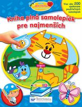 Kniha plná samolepiek pre najmenších