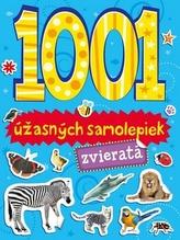1001 úžasných samolepiek zvieratá
