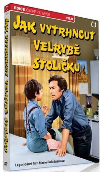 Jak vytrhnout velrybě stoličku - 1 DVD