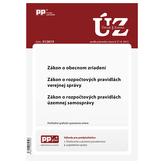 UZZ 31/2015 Zákon o obecnom zriadení, Zákon o rozpočtových pravidlách verejnej správy, Zákon o rozpo