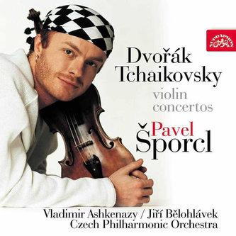 CD Pavel Šporcl - Dvořák, Čajkovský houslové koncerty Šporcl Pavel