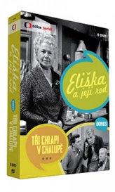Eliška a její rod + bonus Tři chlapi v chalupě - 8 DVD