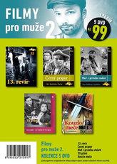Filmy pro muže 2. - 5 DVD pošetka