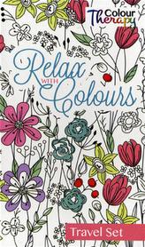 Relax with Colours-Maľovanky - cestovný set