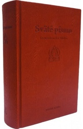 Sväté písmo - Jeruzalemská Biblia (šedá, hnedá - relief)