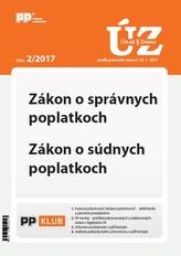 UZZ 2/2017 Zákon o správnych poplatkoch, Zákon o súdnych poplatkoch