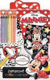 Zamatové vymaľovanky Minnie