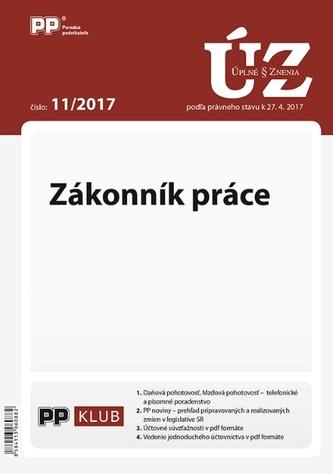 UZZ 11/2017 Zákonník práce