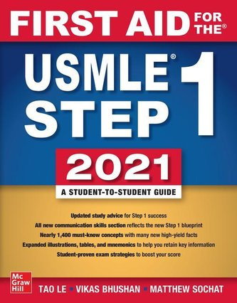 First Aid for the USMLE Step 1 2021, Thirty first edition Le Tao