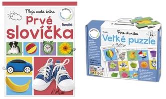 64eceaf06 Veľké puzzle: Prvé slovíčka - autor neuvedený - Megaknihy.sk - autor ...