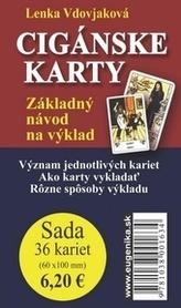 Karty - Cigánské karty (karty + brožúrka)