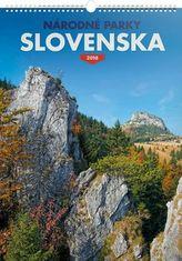 Národní parky Slovenska 2018 - nástěnný kalendář