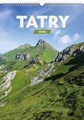 Tatry 2018 - nástěnný kalendář