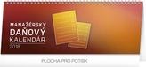 Manažérsky daňový kalendár - stolový kalendár 2018