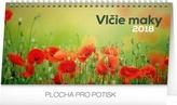 Vlčie maky - stolový kalendár 2018