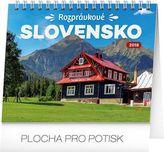 Rozprávkové Slovensko - stolný kalendár 2018
