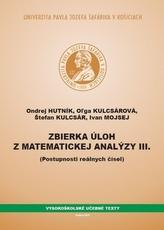 Zbierka úloh z matematickej analýzy III.