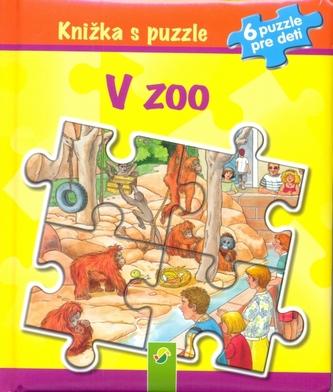 Knižka s puzzle - V ZOO