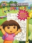 Dora - Maľovanka so samolepkami a plagátom
