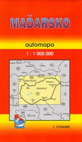 Maďarsko 1:1000 000
