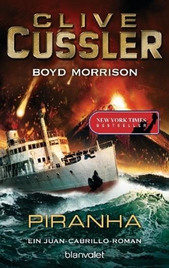 Piranha Cussler, Clive
