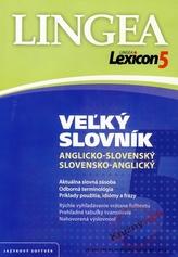Lexicon5 Vežký slovník anglicko-slovenský slovensko-anglický