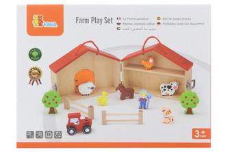Dřevěná farma