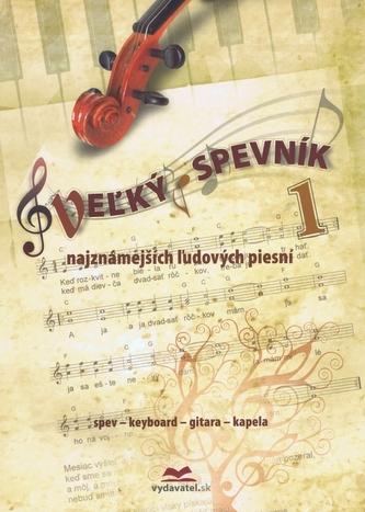 Veľký spevník najznámejších ľudových piesní Vladimír Dobrucký